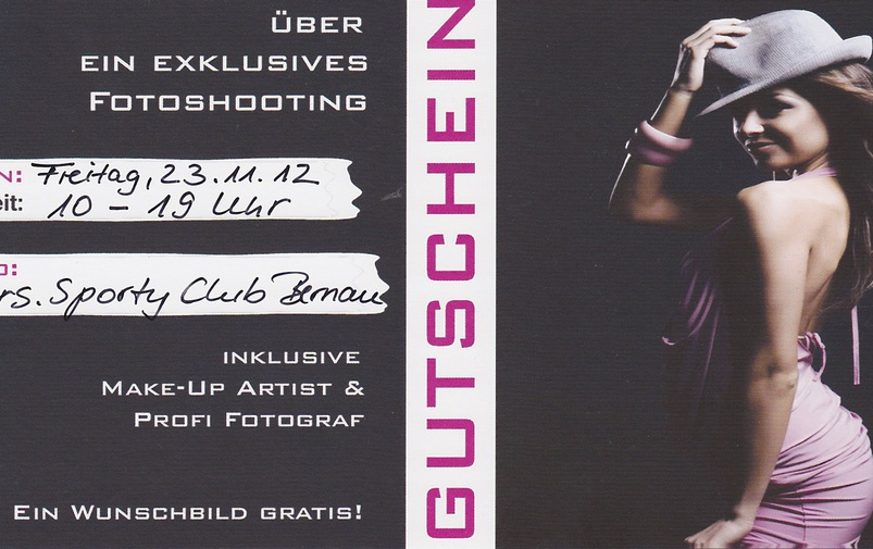 Fotoshooting im Club